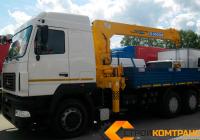 МАЗ 6312 с КМУ Soosan 746
