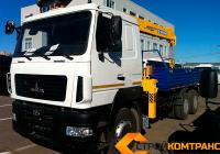 МАЗ 6312 с КМУ Soosan 736