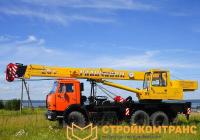 KS-55713-5 «Галичанин» на базе КамАЗ 43118 RF (25 тонн)