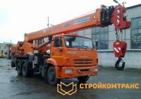 Клинцы KS-55713-1K-1 на базе КамАз 65115 (25 тонн)