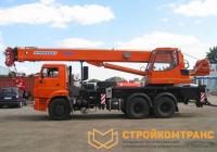 Клинцы KS-55713-1K-2 на базе КамАЗ 65115 (25 тонн)