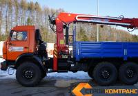 Камаз 43118 с БКУ HTMI-086A
