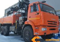 КамАЗ 43118 с БКУ HIAB 190 TM6