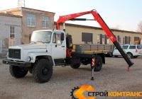 ГАЗ 3308 САДКО с КМУ Fassi 50