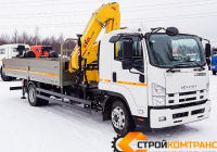 ISUZU FSR34 c КМУ  Hyva HB 150