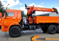 КамАЗ 43118 с КМУ Palfinger-Inman IT 150