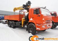 КамАЗ 43118 с КМУ Soosan  736
