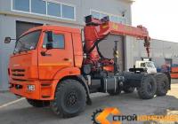 КамАЗ 43118 седельный тягач с КМУ Palfinger-Inman IT 150