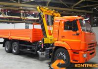 КамАЗ 65115 с КМУ HYVA 150
