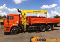 КамАЗ 65115 С КМУ Soosan 746
