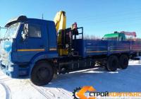 КамАЗ 65117 с КМУ HYVA 230
