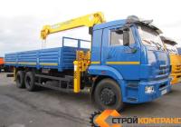 КамАЗ 65117 с КМУ Soosan 513