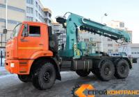 Камаз 43118 с КМУ Hyundai HLC-8016S