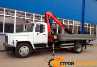 ГАЗ 3309 с КМУ Fassi F100T