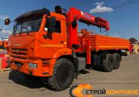 КамАЗ 43118 с КМУ Kanglim 2056