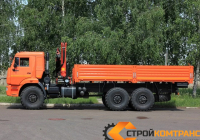 КамАЗ 43118 с КМУ Palfinger 15500