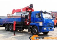 КамАЗ 65115 с КМУ Horyong 206