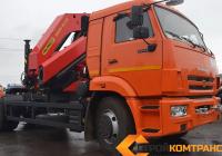 КамАЗ тягач 65115 с  INMAN IM 320