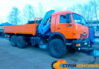 КамАЗ 43118 с КМУ ИМ 150