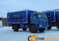 Вахтовый автобус КамАЗ 43502 (26 мест)
