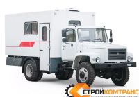 Вахтовый автобус ГАЗ 33086 Земляк (20 мест)