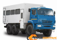 Вахтовый автобус КамАЗ 5350 (22 места)