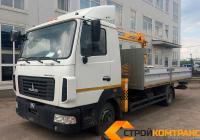 МАЗ 4371 с КМУ Soosan 334