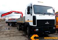 МАЗ 6312 с КМУ Fassi F215A