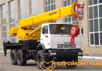 Ивановец KS-45717K-3 OVOID на базе КамАЗ 43118