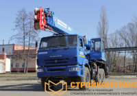 Клинцы KS-55713-5K-3 на базе КамАЗ 43118 (25 тонн)