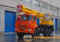 Ивановец КС-35714К-2 на базе КамАЗ 43118 (16 тонн)