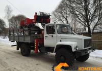 ГАЗ САДКО с БКУ SOOSAN SAC-2501