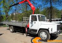 ГАЗ 3309 с КМУ Fassi 65