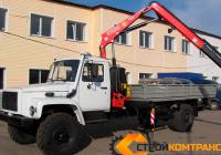ГАЗ 33086 земляк с КМУ Fassi 65