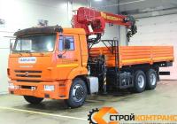 КамАЗ 65115 с КМУ Галичанин