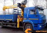 КамАЗ 65117 с КМУ Soosan  736