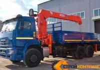 КамАЗ 6520 с КМУ Kanglim 2056