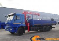 КамАЗ 65117 с КМУ UNIC UR-V554