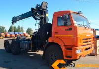 КамАЗ 43118 с КМУ HIAB 190