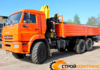 КамАЗ 43118 с КМУ HYVA 150