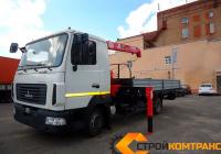 МАЗ 4371 с КМУ Unic 374