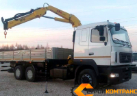 МАЗ 6312 с КМУ Hyva HB 150