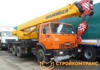 Ивановец KS-45717K-1 на базе КамАЗ 65115 (25 тонн)