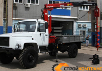 ГАЗ 3308 с БКУ HANGIL HGC 375