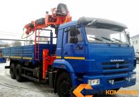 Камаз 65115 с БКУ Kanglim 2056