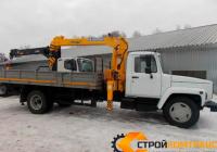 ГАЗ 3309 с КМУ Soosan 333