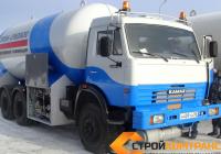 Газовоз АЦТ-12 на шасси Камаз 43253