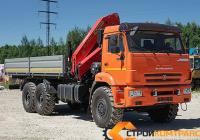 КамАЗ 43118 с КМУ Palfinger 23500