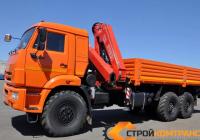 КамАЗ 43118 с КМУ Fassi 245